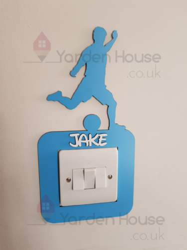 Football  Switch Surround. PERSONALISED